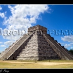 Piramide en Chichen Itza