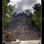 Ruinas en Cobá