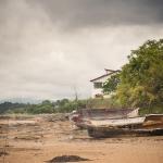 Barco en la arena