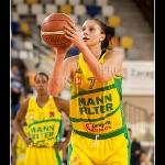 Jaklin Dencheva Zlatanova en los tiros libres