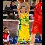 Maria Pina con el balónn