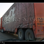 Camión articulado doble